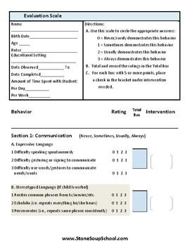 Childhood Autism Evaluation