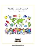 Childhood Autism Evaluation with Treatments