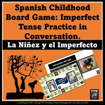 Childhood Board Game- The Imperfect Tense
