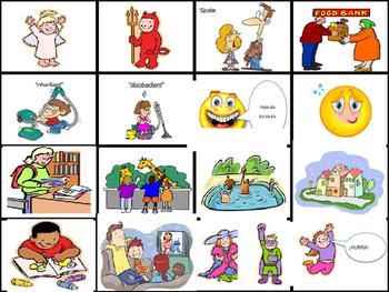 Childhood Flash Cards- La niñez (Realidades 2, Chapter 4A)