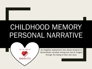 Childhood Memory Personal Narrative
