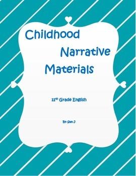 Childhood Narrative Essay Materials