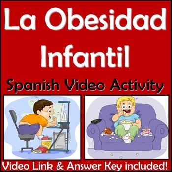 Childhood Obesity Spanish Video Activity - Obesidad Infantil
