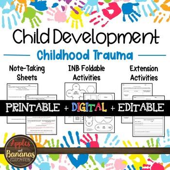 Childhood Trauma - Interactive Notebook Activities