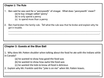 Childhood of Famous Americans Book Study- Ben Franklin