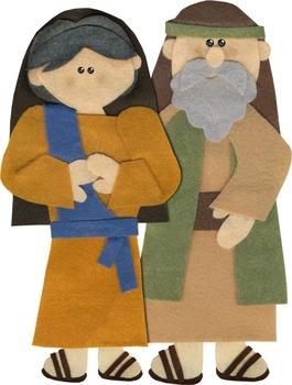 Childhood of Jesus {Felt Story Set}