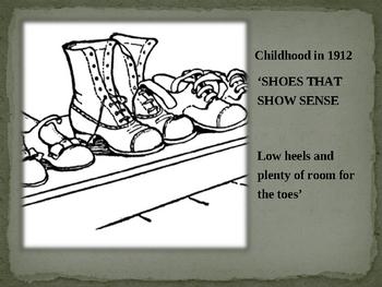 Children 100 YEARS AGO - 1912 Powerpoint 30 slides
