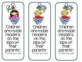 """Children Are Made Readers..."" Bookmarks"