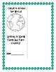 Children Around The World Lapbook
