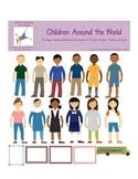 Children Around the World Graphics Set