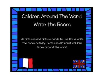 Children Around the World Write the Room