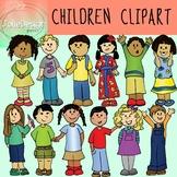 Children Clipart - Color and Line Art 24 pc set