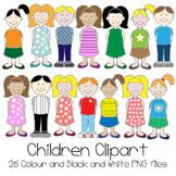 Children Clipart Set