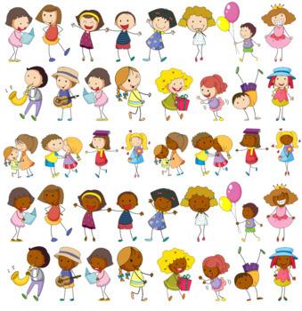 Children Culture Clipart (part 2) {Awesome Clips by Lollipop}