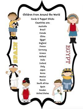 Children From Around the World