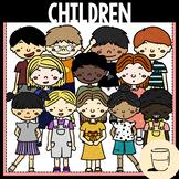 School Children / Kids Clipart