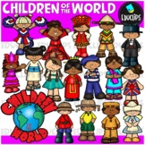 Children Of The World Clip Art {Educlips Clipart}