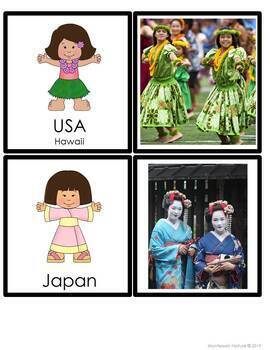 Children Of The World Dress Up
