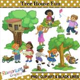 Tree House Clip Art