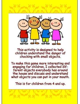 Children Safety Game