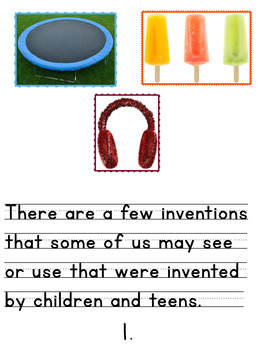Children and Teen Inventors and What They Invented