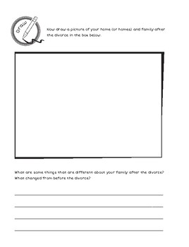 When Parents Divorce Activity Book (Print-N-Go)