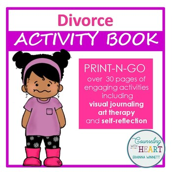 Social Emotional Learning When Parents Divorce Activity Book (Print-N-Go)