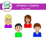 Children cliparts (Enfants)
