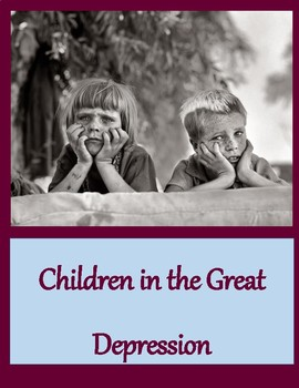 Children in the Great Depression