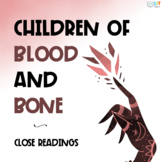 Children of Blood and Bone: Fiction Close Readings, Graphic Organizers