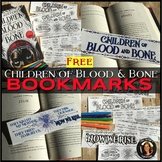 Children of Blood and Bone Free Bookmarks & Coloring Pages