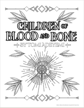Children Of Blood And Bone Free Bookmarks Coloring Pages