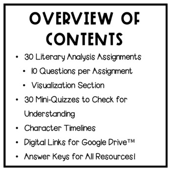 Children of Blood and Bone: Literary Analysis - 30 Assignments with Answer Keys