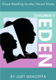 Children of Eden by Joey Graceffa Novel Study/Close Reading Guide