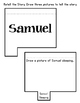 Children of the Bible. Samuel. Worksheets and Activities