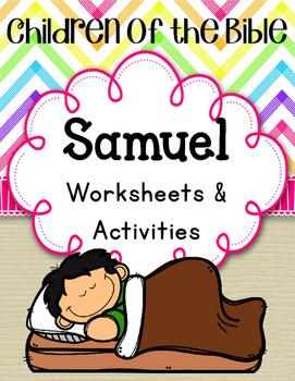Children of the Bible. Samuel. Worksheets and Activities