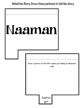 Children of the Bible. The Little Captive Maid. Naaman. Worksheets. Activities