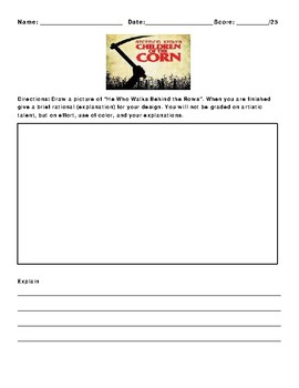 Children of the Corn by Stephen King Assignment