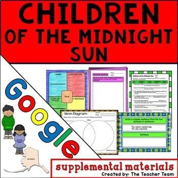 Children of the Midnight Sun Journeys 6th Grade Lesson 10 Google Drive Resource