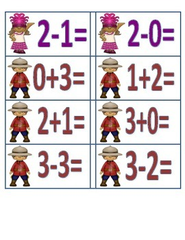 Children of the World Addition/Subtraction Facts