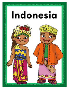 Children of the World: Asia & Middle East - Activity Bundle