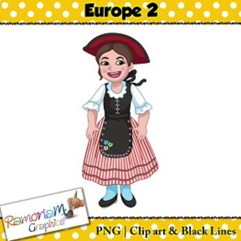 Children of the World Clip art Europe