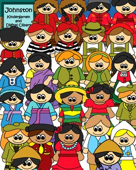 Children of the World Clipart