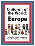 Children of the World: Europe - Activity Bundle