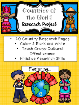 Children of the World Country Study Research Project