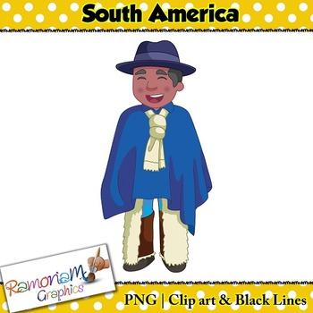 Children of the World Clip art South America