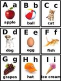Children's Alphabet Flash Cards