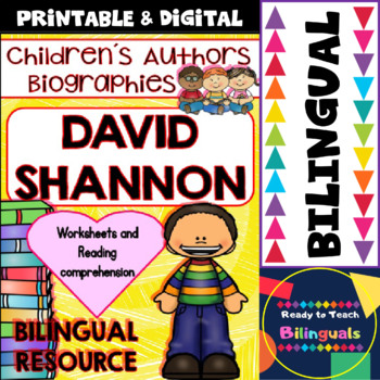 Children´s Authors - David Shannon (Bilingual Set)