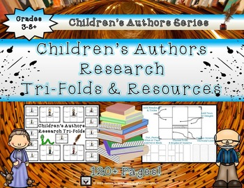Children's Authors Research Tri-Folds and Resources