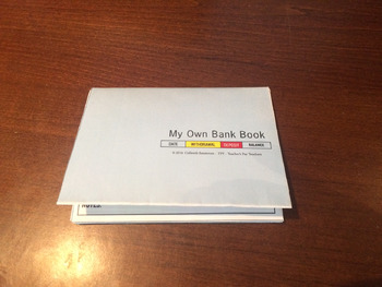 Children's Bank Book (Date/Withdrawal/Deposit/Balance Version)